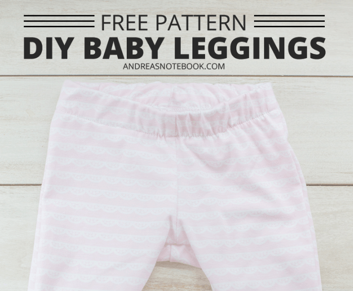 diy gifts free pattern diy baby leggings andreasnotebook