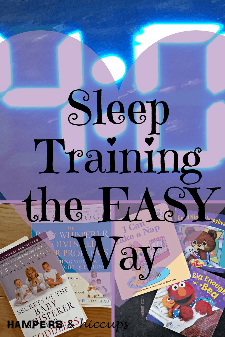 Learn how to sleep train your baby the EASY way. Gentle and direct method to get your baby on a structured routine and sleeping through the night. #sleeptraining #sleep #parenting #babywhisperer #EASY