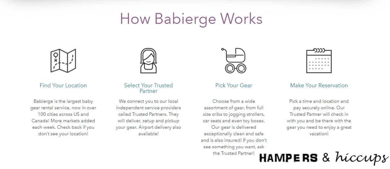 Planning your next family vacation? Wondering where to rent baby gear while traveling? Look no further. Babierge is just for you. Find out my experience with them and why I think you should rent, too!