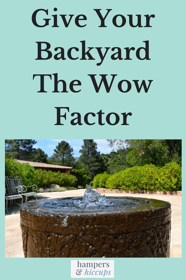 Give your backyard the wow factor rock water bubbler fountain hampersandhiccups