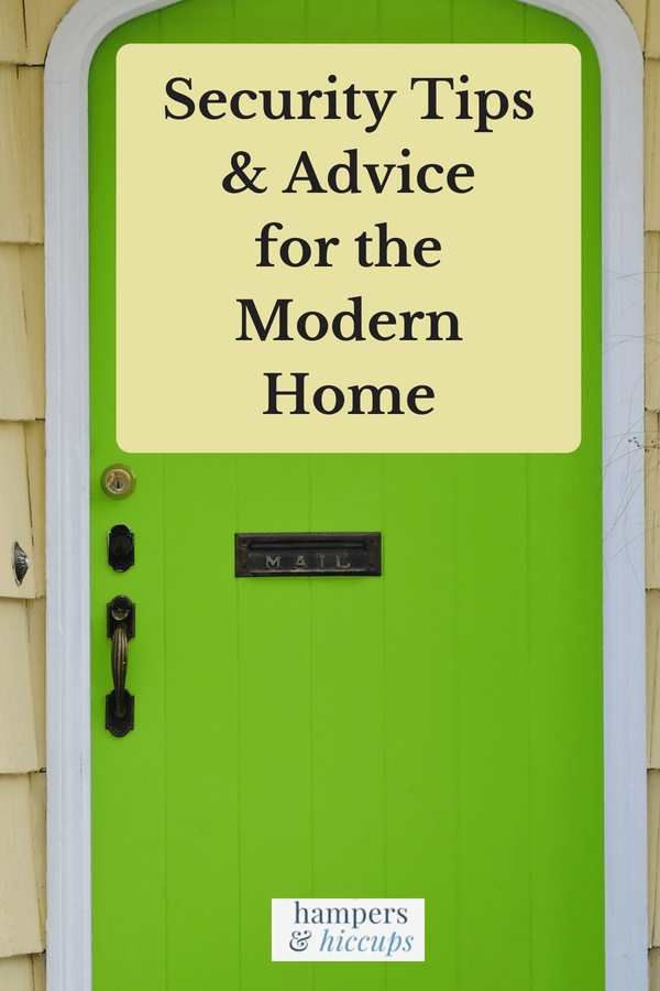 Security Tips And Advice For The Modern Home front door with locks hampersandhiccups